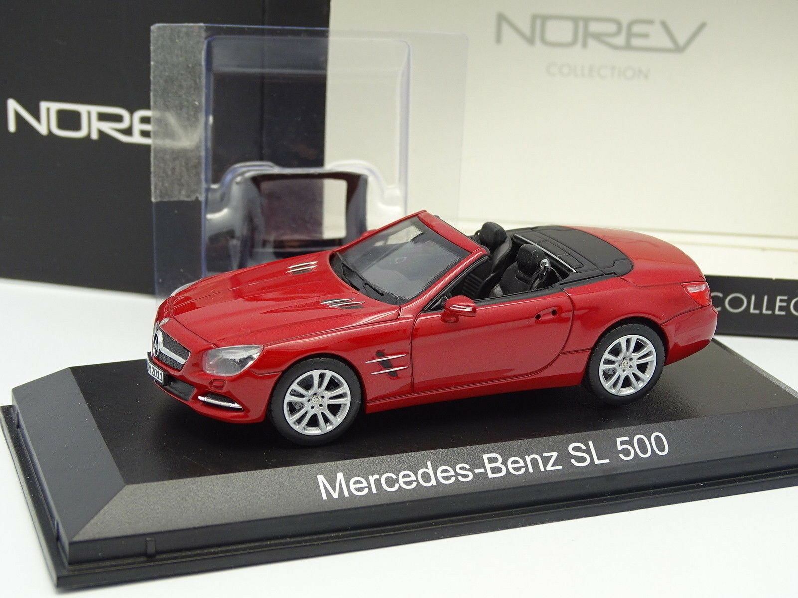 Norev 1 43 - Mercedes SL 500 Red