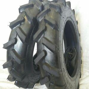 5-00-15-2-TIRES-TUBES-5-00X15-ROAD-CREW-JOHN-DEERE-R1-Tractor-Tires-6-PLY