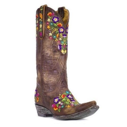 279533ff5c9 Old Gringo Sora Womens Western Boot- Choose Sz/color. 9 US Medium (b M)  Brass