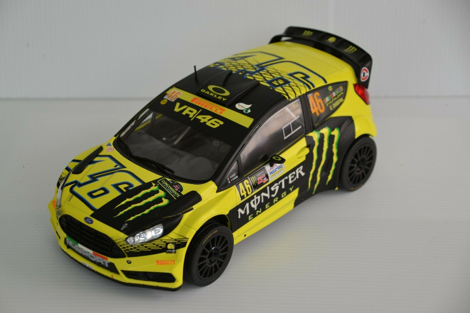 1 18 FORD FIESTA WRC ROSSI MONZA RALLY SHOW 2015