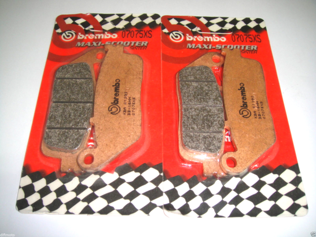 4 Front Brake Pads Brembo Sintered 07075XS Kymco Xciting 500 2007