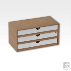 Hobby Zone OM02a Three-Drawer Module - Modular Workshop System