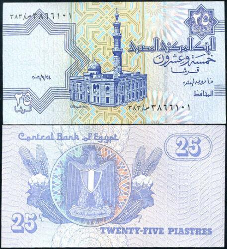 Egypt 25 Piastres 2006 UNC P-57