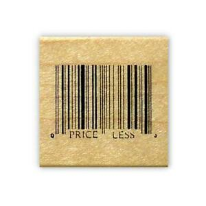 "Inkadinkado Mounted Rubber Stamp 1.5/""X1.5/""-Just For You Priceless"