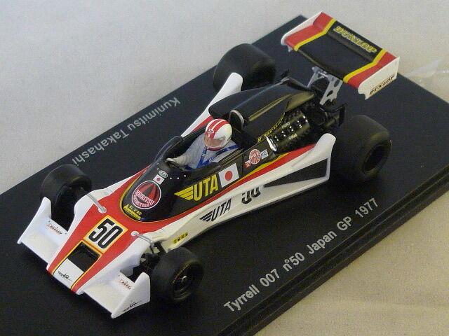 Spark s1639-tyrrell 007 japan gp  1977 takahashi no. 50 1 43  meilleure réputation