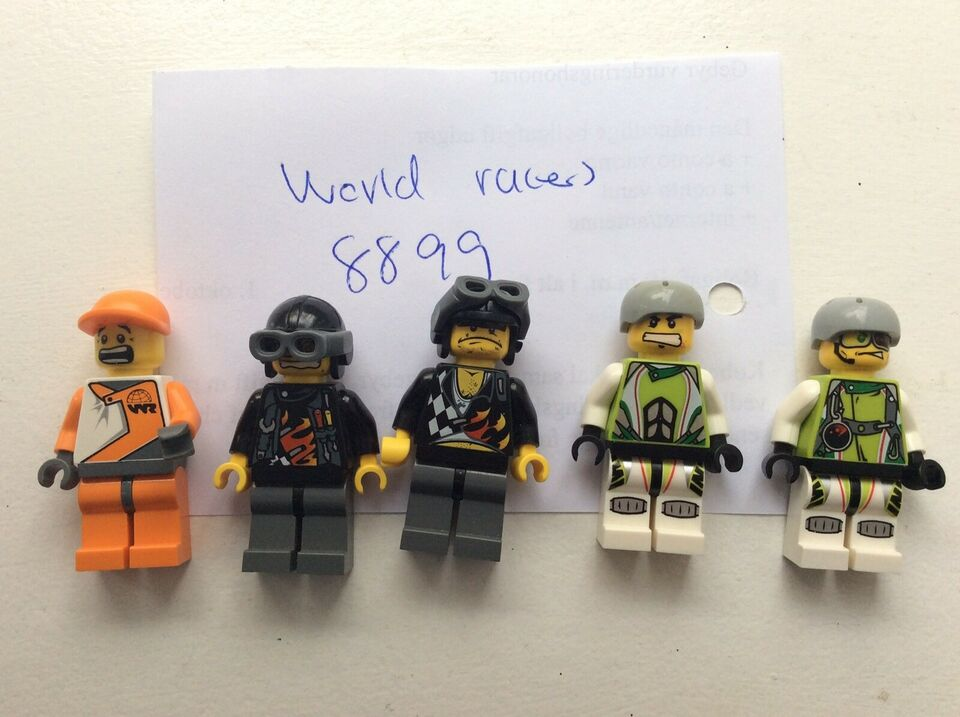 Lego World of Racers, 8899
