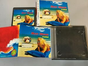 TUBE-Heat-Waver-JAPAN-MD-Mini-Disc-SRYL7350-w-BOOKLET-PS-Cracks-on-case-Free-S-amp-H