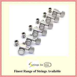 Fender-Locking-Guitar-Tuners-American-Deluxe-Strat-Brushed-Chrome-Set-of-6