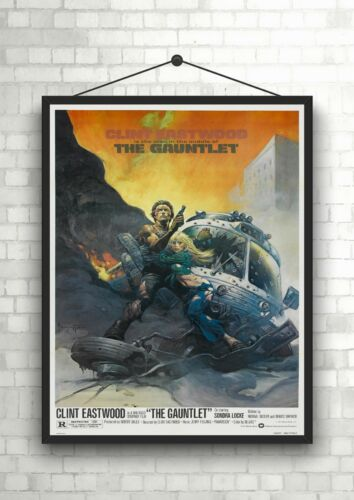 The Gauntlet Classic Large Movie Poster Art Print A0 A1 A2 A3 A4 Maxi