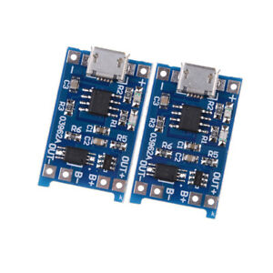 10Pcs-set-5V-Micro-USB-1A-18650-Lithium-Battery-Charging-Board-Charger-Module-TO