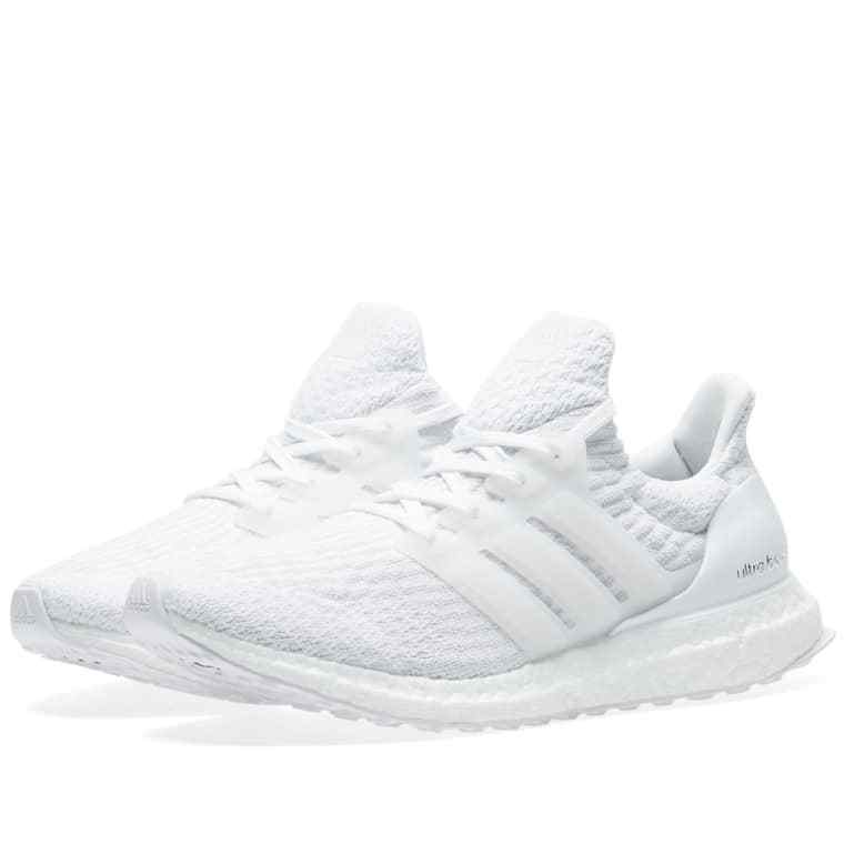 Adidas UltraBOOST 3.0 Triple White BA8841 Ultra Boost Mens Running shoes NIB