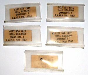 5-sachets-d-039-une-bille-de-roulement-a-bille-militaire-diam-3-15-mm-NOS-NIB