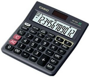Casio MJ120D MJ 120 D Basic Calculator Check And Correct Function  NEW Genuine
