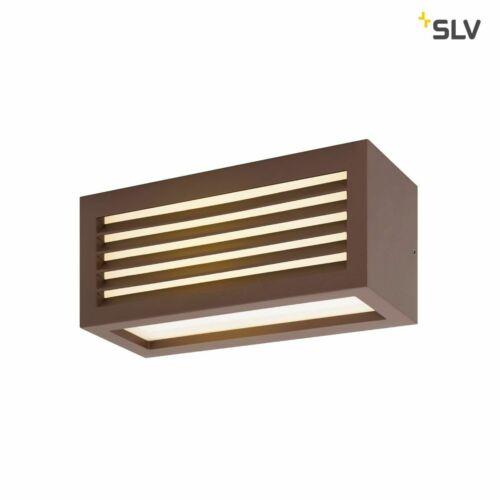 19W warmweiß rost farbend LED Außen-Wand-//Deckenaufbauleuchte BOX/_L IP44