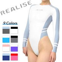 Realise N-015 Long-sleeved High-cut Swimsuit Swimwear Normal Choose Color