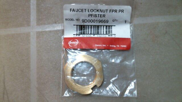 Brass Craft #SF0457 B 1//2IPS Faucet Lock Nut