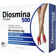 DIOSMINA 500 Complex Diosmin 60tabs Hesperidin rutin supports venous circulation