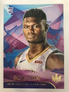 2019-20-Panini-Court-Kings-Zion-Williamson-Level-I-RC-72-Pelicans-Rookie-RARE