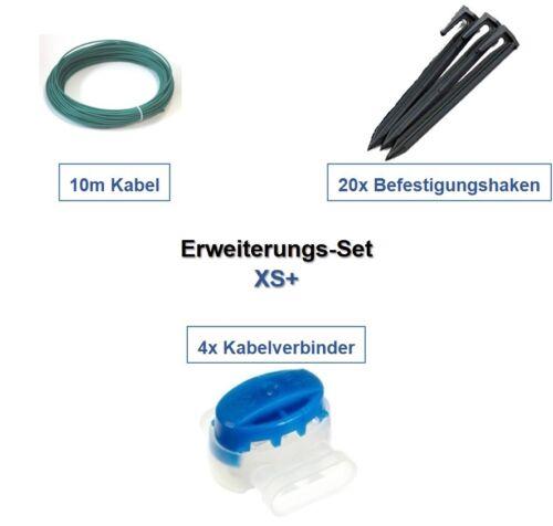 Optionnelle-Set XS Worx Landroid WR 1 * Câble Crochet Connecteur Kit d'extension