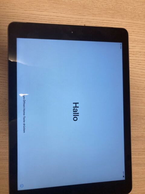 Apple iPad 5. Gen. 128GB, WLAN, 24,64 cm, (9,7 Zoll) - Spacegrau
