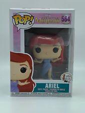 Funko Pop Vinyl Little Mermaid Ariel Purple Dress Figure #564 Disney UK NEW