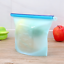 Reusable-Silicone-Food-Storage-Bags-2-Large-2-Medium-Sandwich-Liquid-Snack thumbnail 2