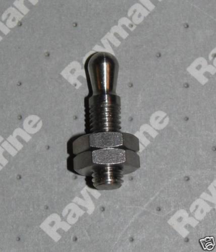 Autohelm Short Threaded Tiller Pin D014