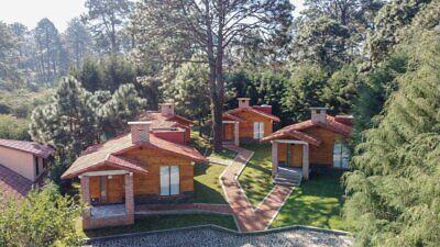 Se Vende Complejo de 4 Cabanas Nuevas Amuebladas en Mazamitla Jalisco