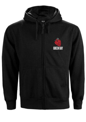 Green Day American Idiot Official Hoodie Hooded Top