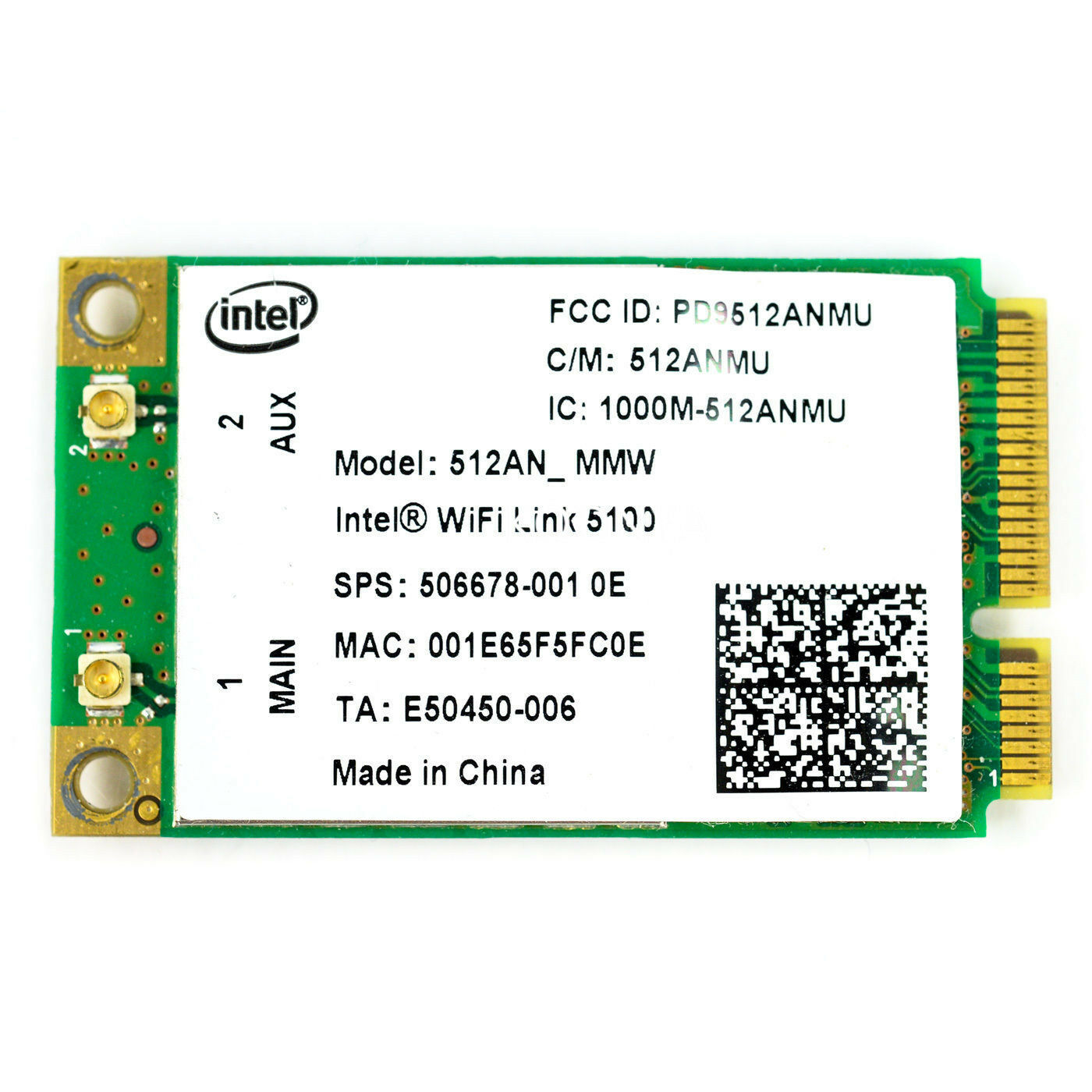 5100 WiFi Card 802.11a/b/g/ For Envy13 2530p 6930p 8530p 506678-001 Wireless