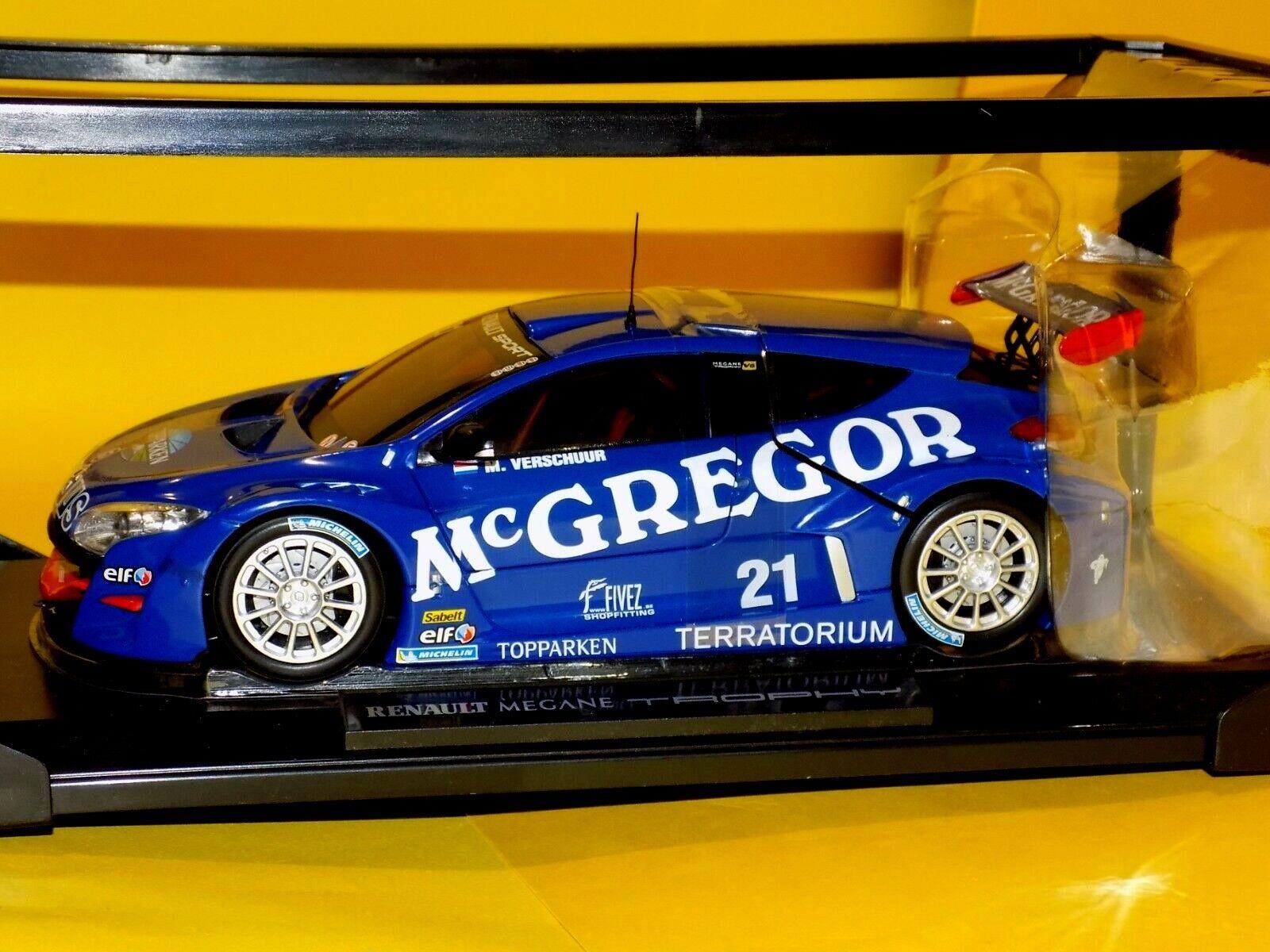 RENAULT MEGANE V6 TROPHY Mc-GREGOR  21 WINNER  2009   NOREV  185108 1 18