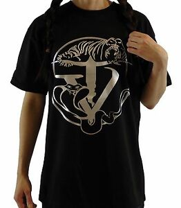 black-hip-hop-tijger-slang-t-shirt-with-TYGER-VINUM-silver-logo-women