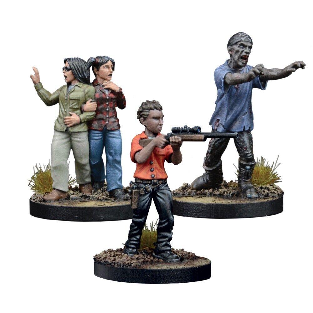 Mantic The Walking Dead BNIB Miniatures Booster Maggie, Prison Defender MGWD120