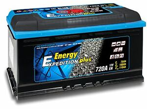 12V 110AH Expedition Plus Semi Traction Leisure Battery - Replaces Banner 95751