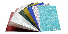 A4 size printed self adhesive holographic sparkle paper sticker sheet : 10 pcs