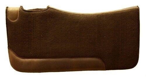 Western Sattelpad aus Filz hoher Qualität,  brown  brand on sale clearance