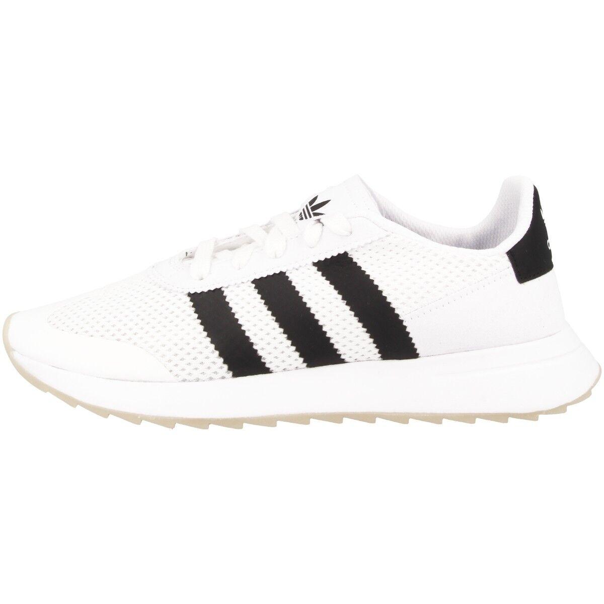 ADIDAS FLB donna Scarpe Da Donna Originals scarpe da ginnastica Scarpe da ginnastica bianca nero ba7760