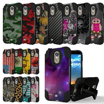 Cell Phones & Accessories Cell Phone Accessories Lg Stylo 3 Ls777 Stylo 3 Plus Rugged Shockproof Case W/stand Dual Layer Cover