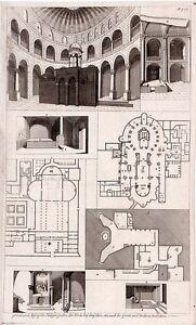 Antique-print-Kirche-zu-Betlehem