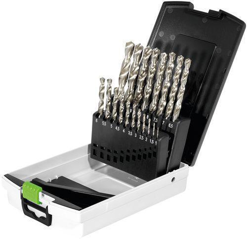 Festool Bohrerbox HSS Stahlbohrer HSS D 1-10 Sort 19   498981