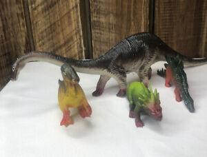 Lot 4 Vintage Dinosaur