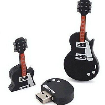 Cool Guitar model USB 2.0 Memory Stick Flash pen Drive 4GB 8GB 16GB 32GB USB152