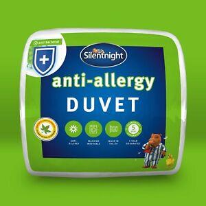 Silentnight Anti Allergy Anti Bac 7.5 Tog Duvet Quilt Single Double King SuperK