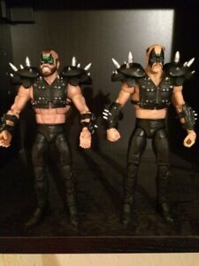 Mattel-WWE-Legends-Series-1-Road-Wariors-Legion-of-Doom-set-Animal-Hawk-Black