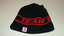 Canada 2014 Winter Olympics Sochi Hockey Black Toque Beanie Hat Cap Sideline
