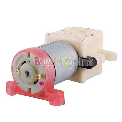 Water AIR Pump DC 12V 400L/H 1.2MPa Diaphragm Pump For Aquarium Fish Tank HF