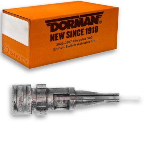 Dorman Ignition Switch Actuator Pin for Chrysler 300 2005-2007 Key Starter ua