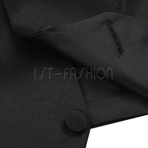 Anzug-Weste Kinder Jungen Weste Smoking Anzug Anzugweste festlich Hochzeit
