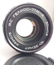 USSR MC HELIOS 77M-4 50mm f1,8 lens M42 mount Zeiss Biotar
