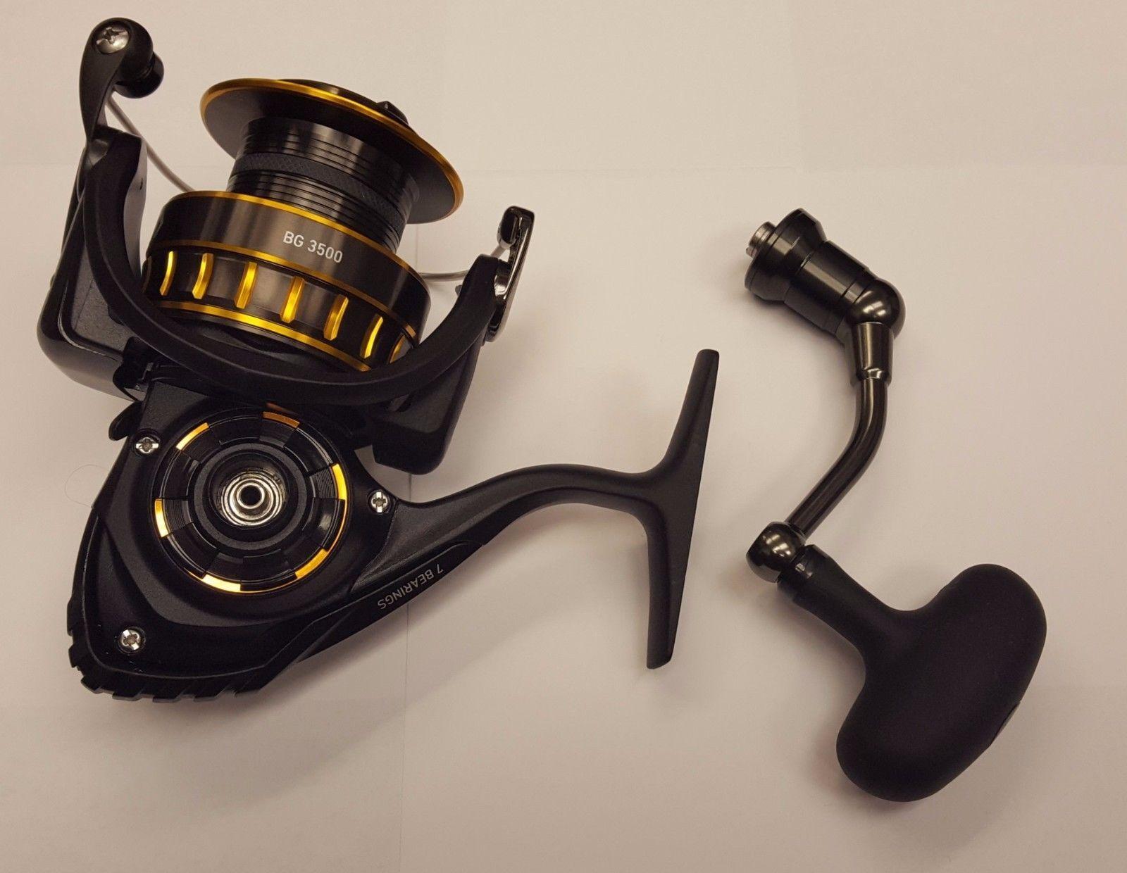 Nuevo Negro Dorado (BG) Daiwa Spinning Cocheretes 2500 6BB 1RB, BG2500 5.6  1 ratio